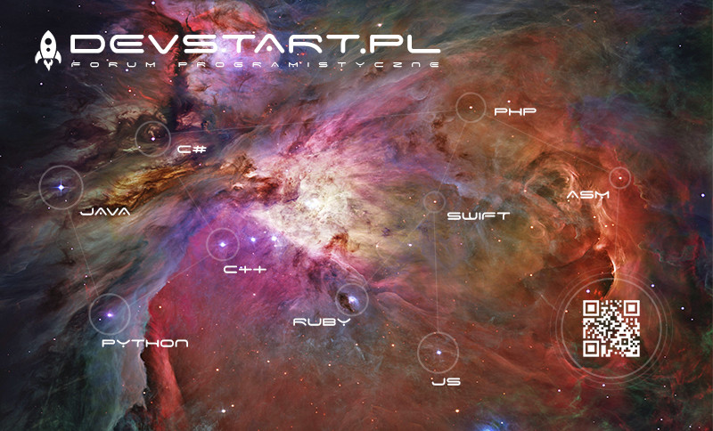 DevStart Programming Forum Constellation Ad Design