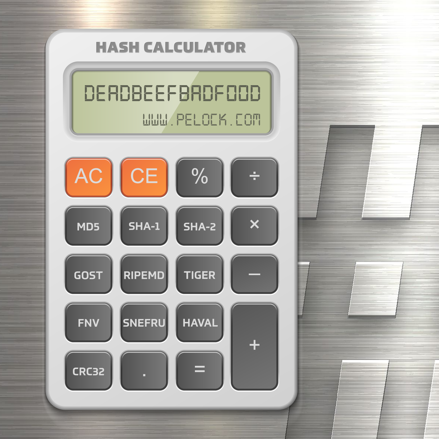 Hash Calculator Online Promotional Ad Design