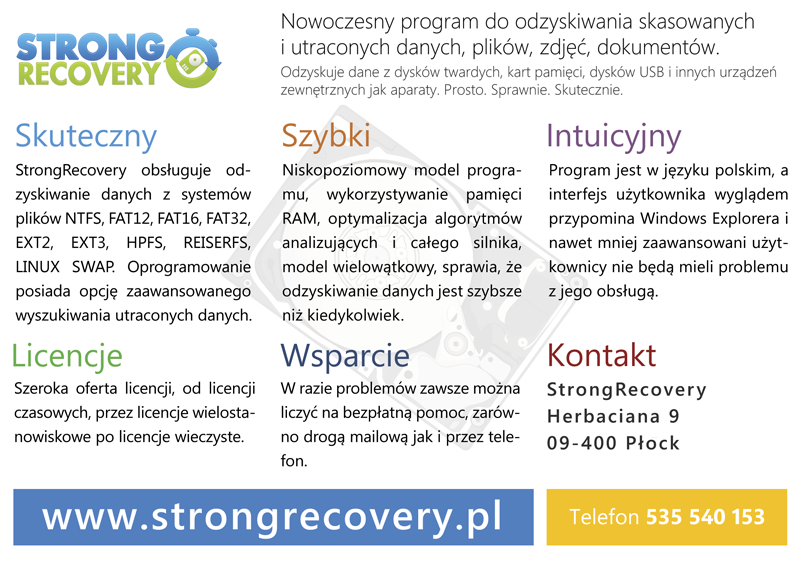 StrongRecovery Ad Design