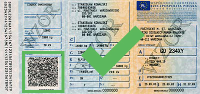 AZTEC 2D Online Decoder for Polish Vehicle ID Cards