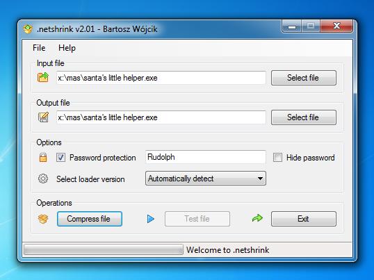 .netshrink (2.7) free work version for win 10 get